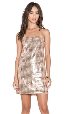 Whitney Eve Escalante Dress in Rose Gold