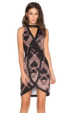 Whitney Eve Karoo Dress in Diamond Maze