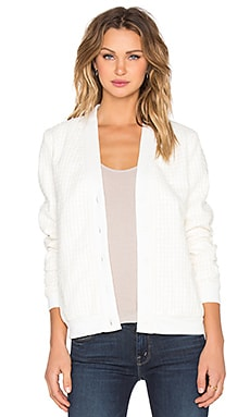 Gibson Cardigan in White