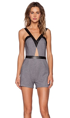 Whitney Eve Pawpaw Romper in Black