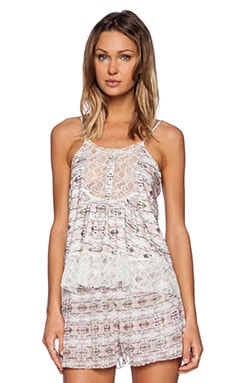 Whitney Eve Bamboo Orchid Top in Pink Haze
