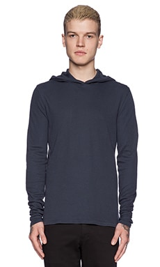 Ever Thermal Hoodie in Midnight Blue