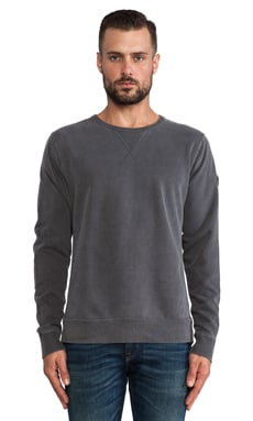 EVER Roger Crew Sweatshirt in Aged Black
