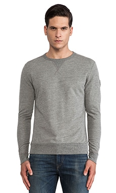EVER Roger Crew Sweatshirt in Heather Grey