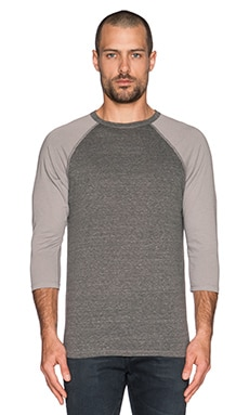 EVER Nash 3/4 Sleeve in Grey