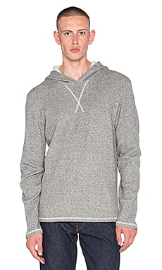 EVER Emory Dual Thermal Pullover in Heather Grey