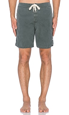 EVER Cliffs Boardshort in Washed Black
