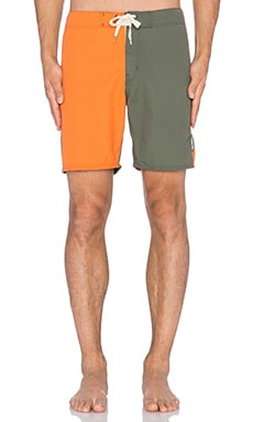 EVER County Line Boardshort in Orange & Park