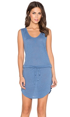EVER Melanie Tank Tie Dress in Sky