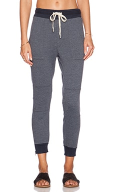 EVER Parker Patch PKT Jogger in Pacific Blue