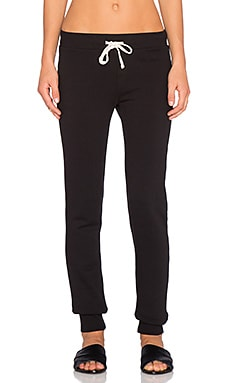 EVER Kingston Slim Sweatpant in Black