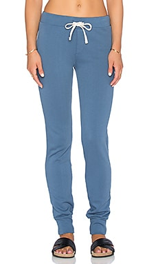 EVER Kingston Slim Sweatpant in Cadet