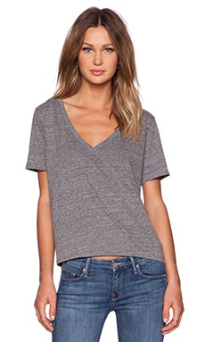 EVER Frankie Tee in Heather Grey