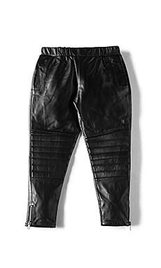 Leather Harem Pant