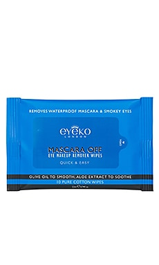 Mascara Off Eye Make-Up Remover Wipes Eyeko $9