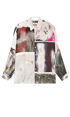 Monte Zine Print Shirt Eytys $300