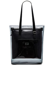 Eytys Void SM Tote in Clear Ink