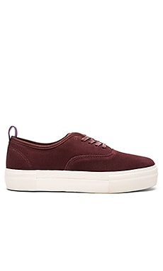 Eytys Mother Suede in Oxblood