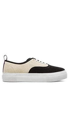 Eytys Mother Suede in Black Cream