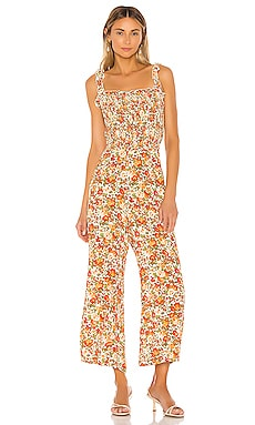 Bernard Jumpsuit FAITHFULL THE BRAND $189 BEST SELLER