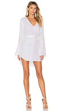 Brusc Dress in Plain White