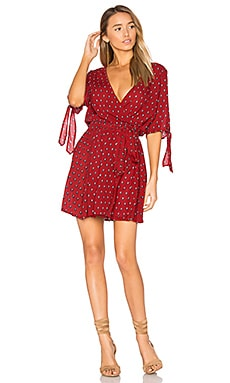 Osolo Dress in Red Venice Print