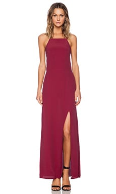 FAITHFULL THE BRAND Hey Beau Maxi in Plain Red