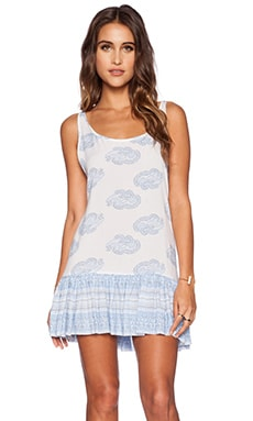 FAITHFULL THE BRAND Elixir Dress in Sunfaded Print