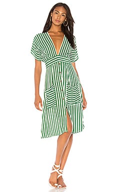 Milan Midi Dress FAITHFULL THE BRAND $169