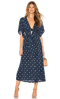 X REVOLVE Magda Midi Dress FAITHFULL THE BRAND $179