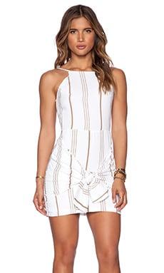 FAITHFULL THE BRAND Almalfi Dress in Jetset Stripe