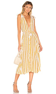 Claudia Midi Dress FAITHFULL THE BRAND $179