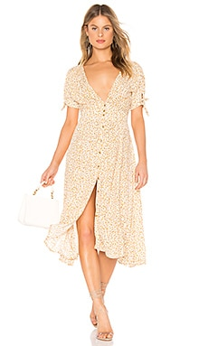 Billie Midi Dress FAITHFULL THE BRAND $94