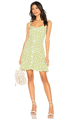 Lou Lou Mini Dress FAITHFULL THE BRAND $149 NEW ARRIVAL