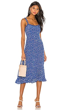 Noemie Midi Dress FAITHFULL THE BRAND $165 BEST SELLER