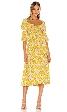 Nora Midi Dress FAITHFULL THE BRAND $189