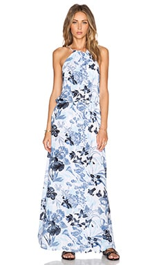 FAITHFULL THE BRAND Getaway Maxi Dress in Poolside Print