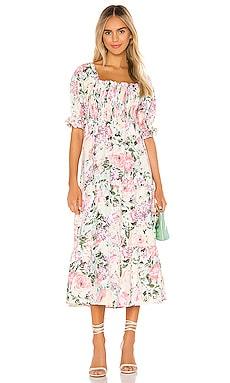 De Christin Midi Dress FAITHFULL THE BRAND $200