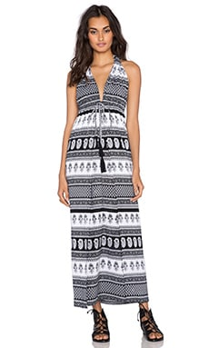 FAITHFULL THE BRAND Promenade Maxi in Journey Print