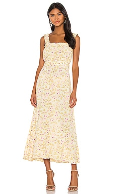 Saint Tropez Midi Dress FAITHFULL THE BRAND $95