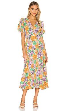 Marie Louise Midi Dress FAITHFULL THE BRAND $80