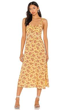 Maeve Midi Dress FAITHFULL THE BRAND $67