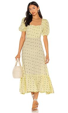 Gabriela Midi Dress FAITHFULL THE BRAND $67