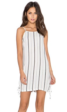 FAITHFULL THE BRAND August Dress in St Barths Stripe