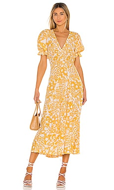 Maggie Midi Dress FAITHFULL THE BRAND $199