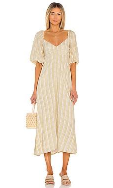 Imanie Midi Dress FAITHFULL THE BRAND $209