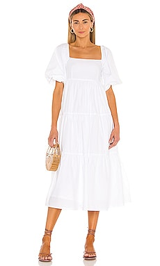 Kiona Midi Dress FAITHFULL THE BRAND $209
