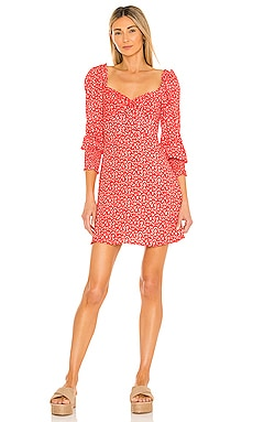 x REVOLVE Arianne Mini Dress FAITHFULL THE BRAND $169 NEW