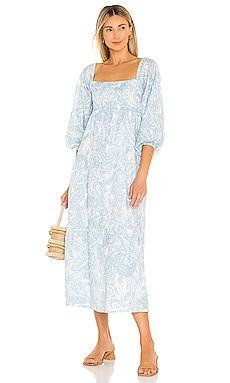 Alison Midi Dress FAITHFULL THE BRAND $319