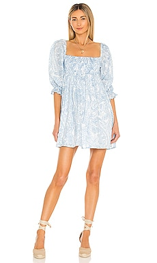 Calista Mini Dress FAITHFULL THE BRAND $209 NEW